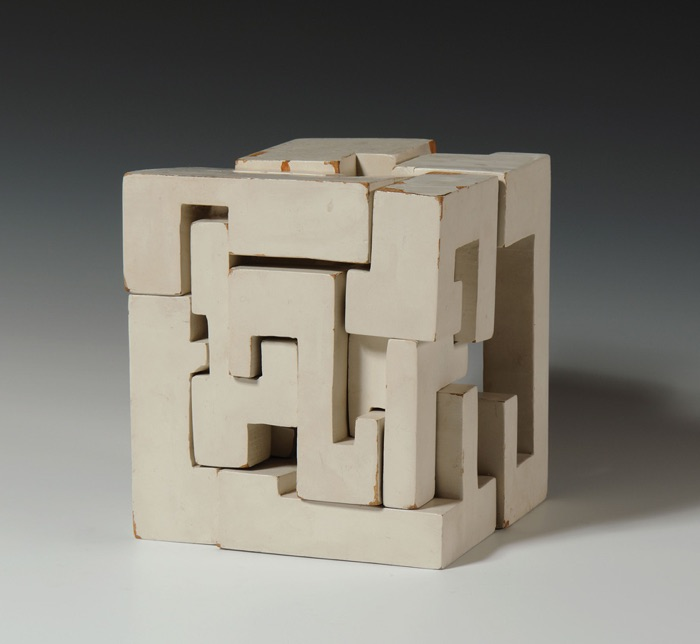 Saloua Raouda Choucair, Poem Cube, 1963-65