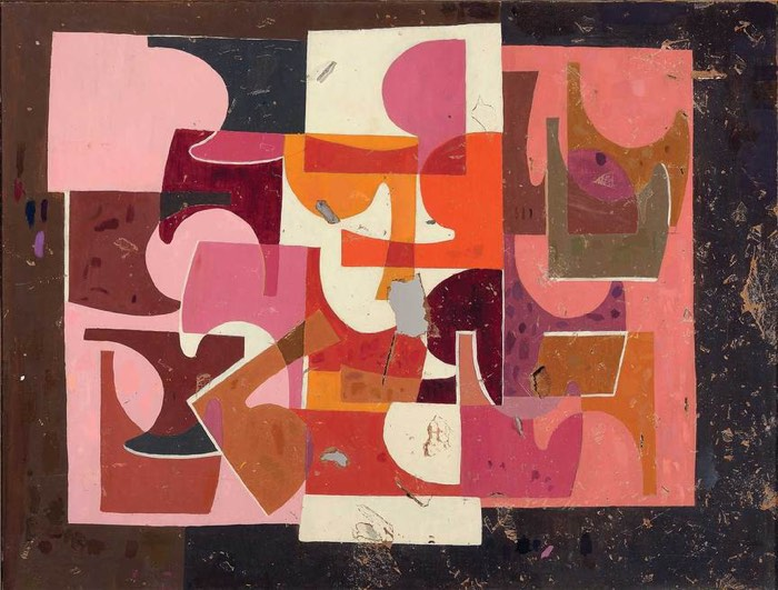 Saloua Raouda Choucair, TWO=ONE, 1947–51