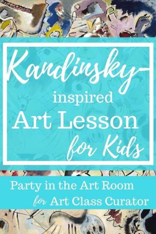 Easy and Fun Kandinsky Art Lesson for Kids