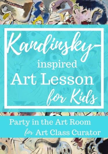 Kandinsky Art Lesson for Kids