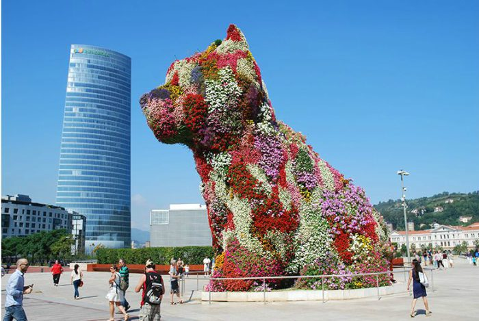 Dogs in Art - Jeff Koons Puppy, 1992