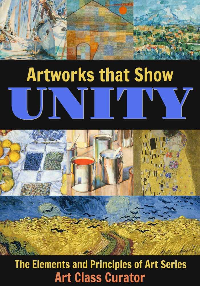 examples of unity in art using shape form line color and more