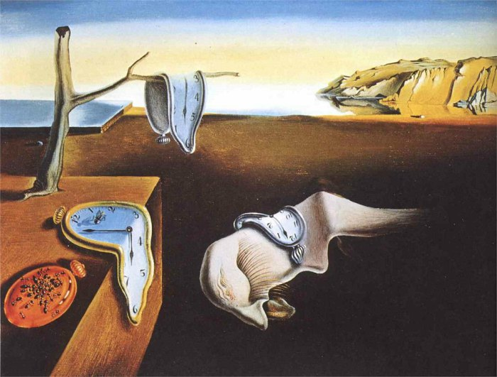 Early Finisher Activities - Art Class Curator - Salvador Dali, The Persistence of Memory, 1931