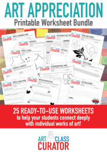 25 art worksheets for kids
