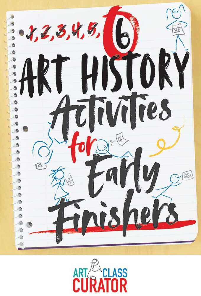 early finisher activities for art class