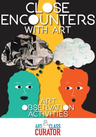 Close Encounters with Art-Art Observation Activities 700x1000