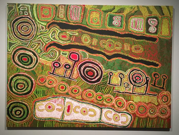 Australian Aboriginal Art for Kids - Iyawi Wikilyiri, Pukara, 2010