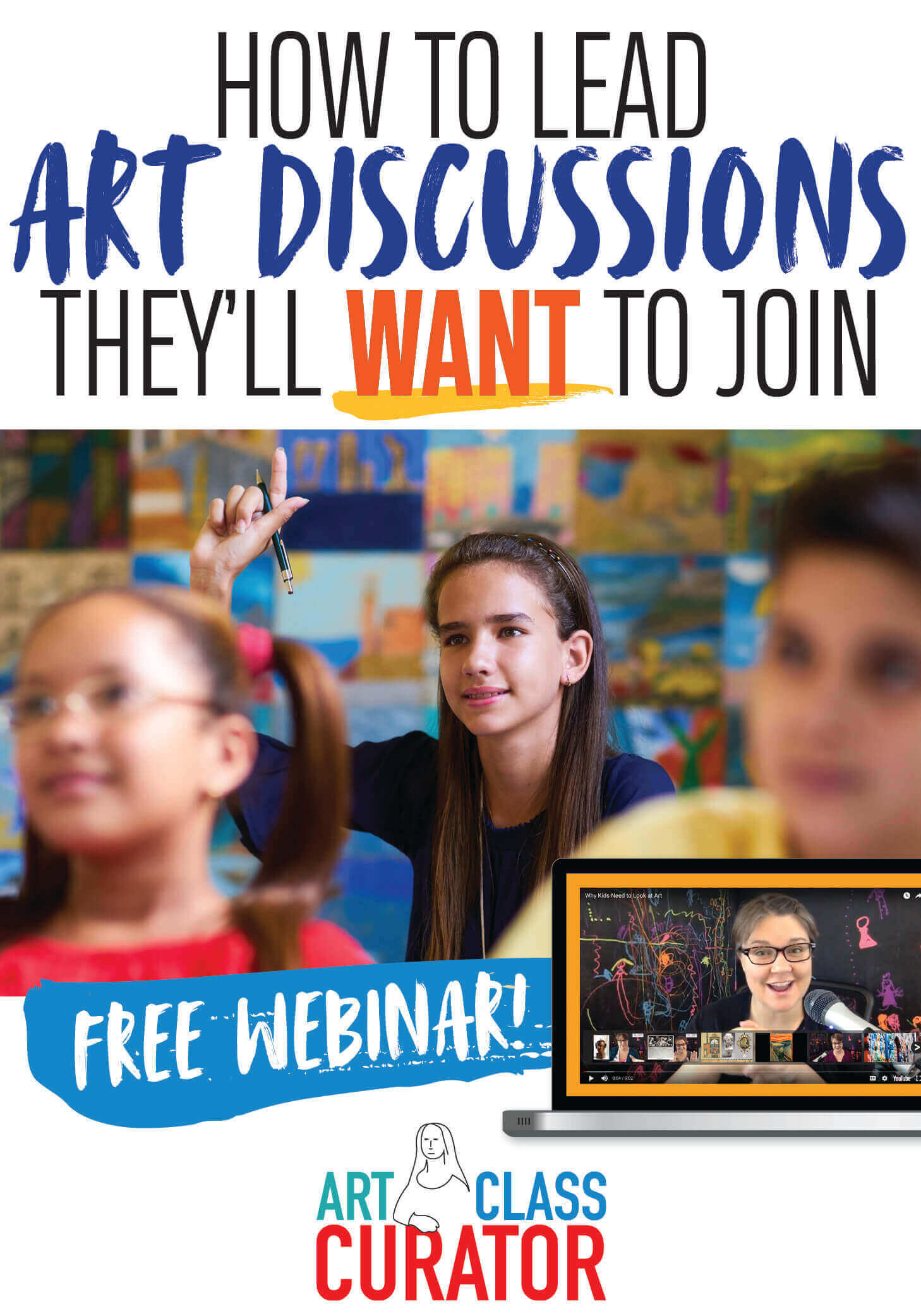 free art teacher training webinar