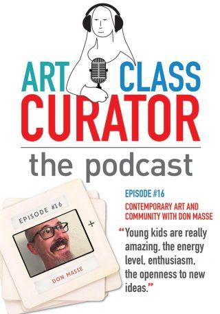 Don Masse Art Class Curator Podcast