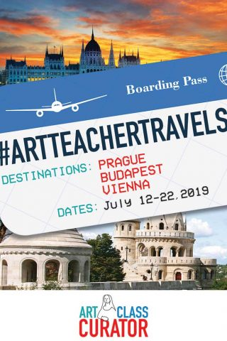 2019 Summer Art Trip – Come to Europe with me!