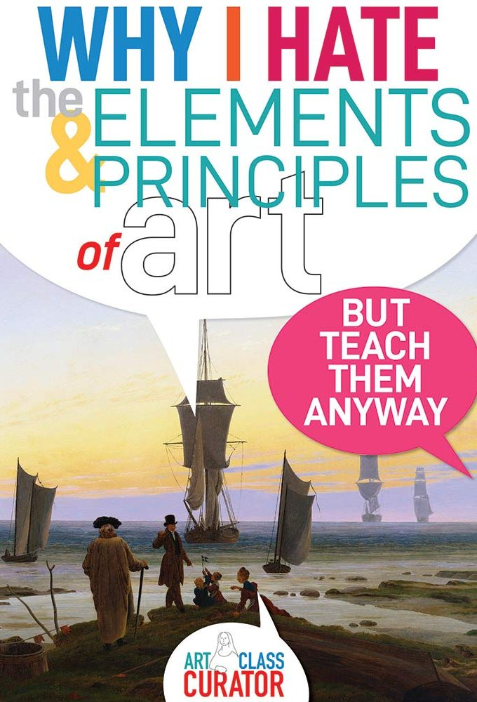 teaching elements and principles of art