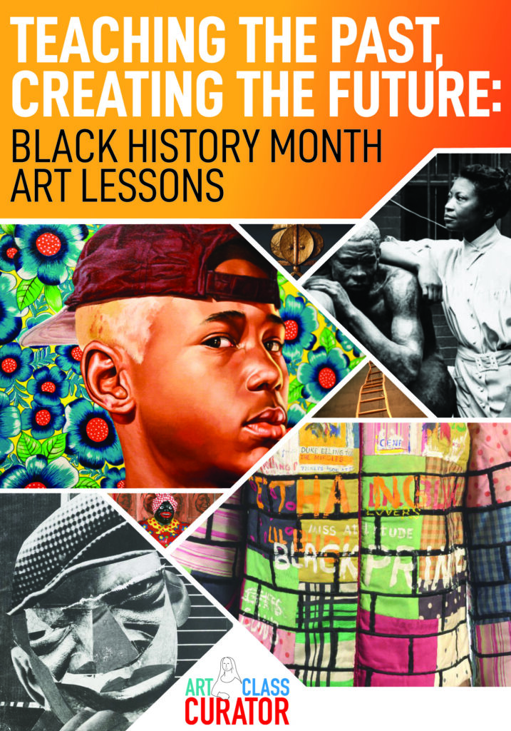 black history month art lessons