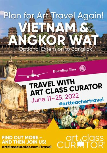 2022 Summer Art Trip – Come to Vietnam & Angkor Wat with me!