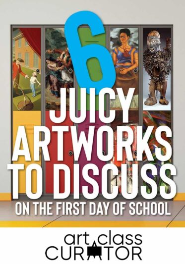 Art Discussion First Day of School