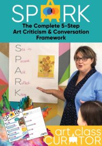 SPARK art criticism and discussion framework
