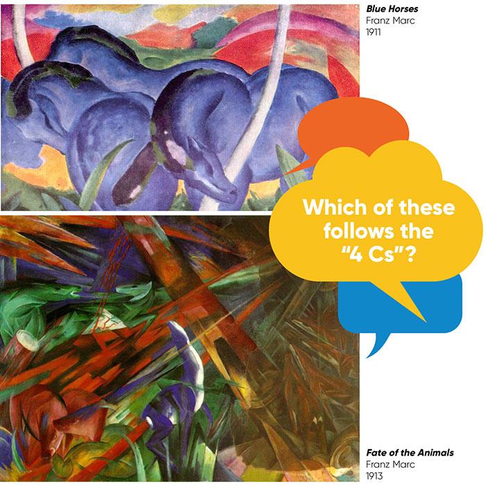 artwork selection art lesson