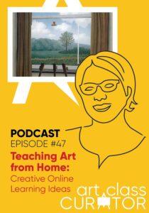 teaching art from home