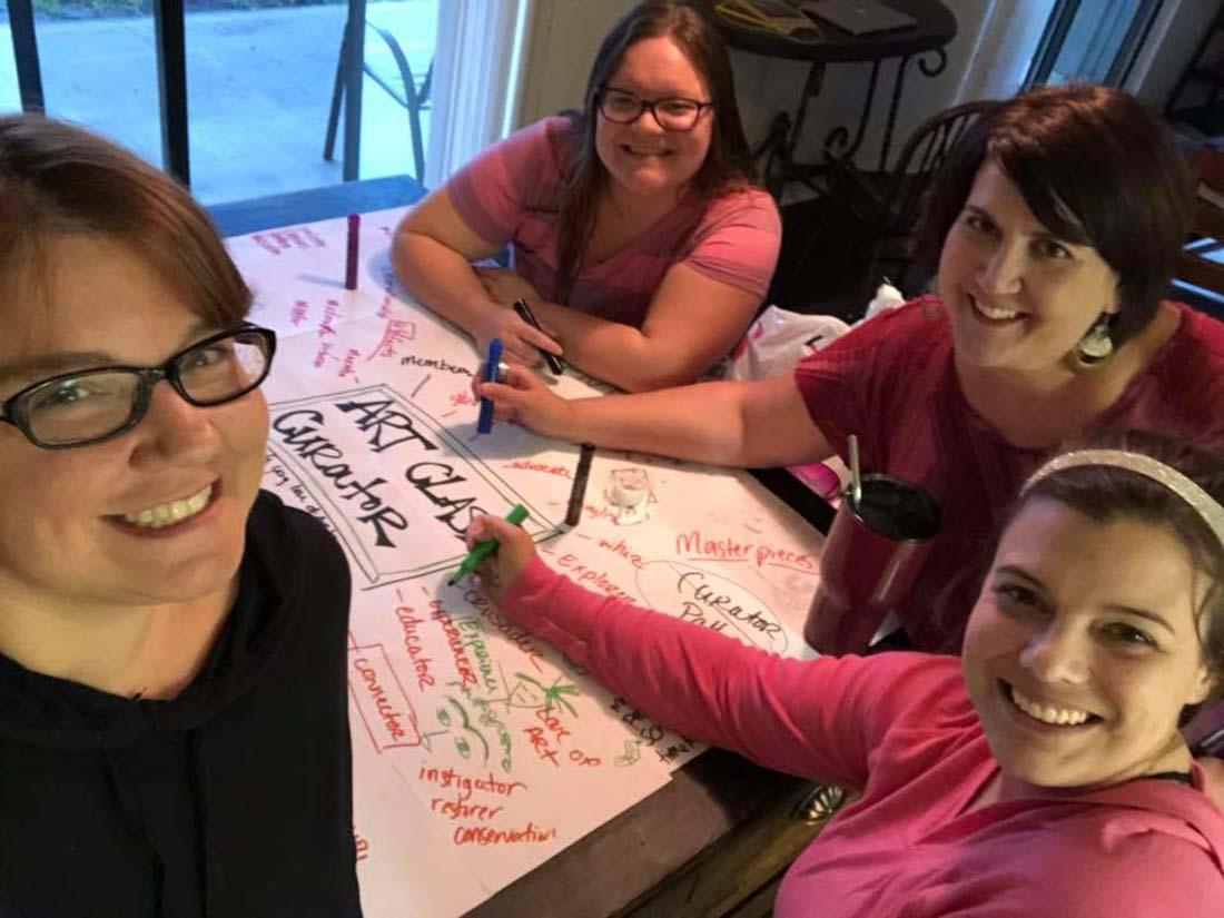 Meet the Art Class Curator Team