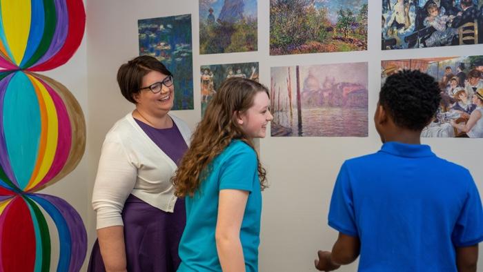 Art Talk Challenge - Art Class Curator