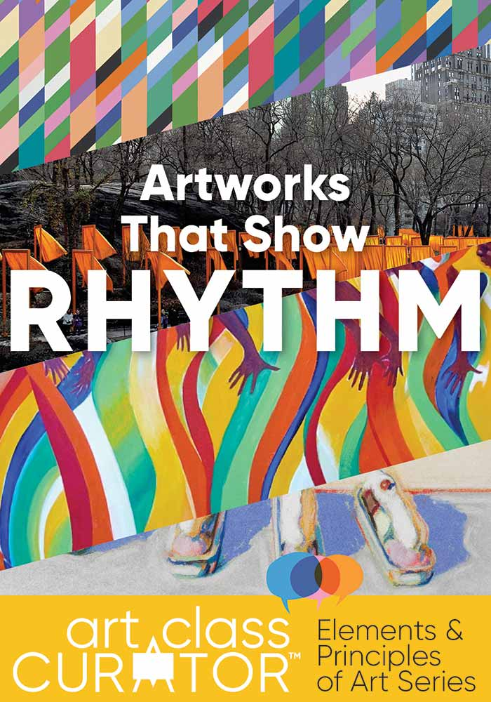 Rhythm In Art The Ultimate List Of Rhythm In Art Examples,School Project Simple Flower Corner Border Designs