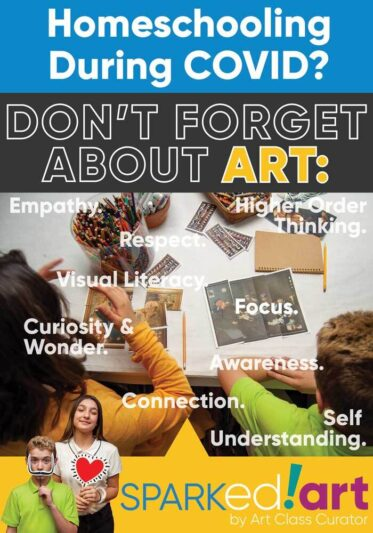 Homeschooling during Covid? Don't forget about Art.