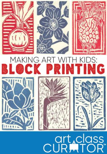 Making Art with Kids: Block Printing Lesson
