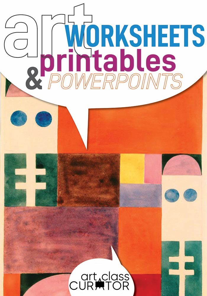 Art Printables, Worksheets, And PowerPoints