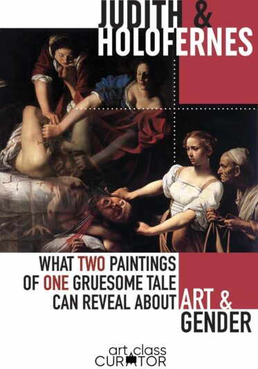 Judith and Holofernes Paintings: A Compare and Contrast Art Lesson