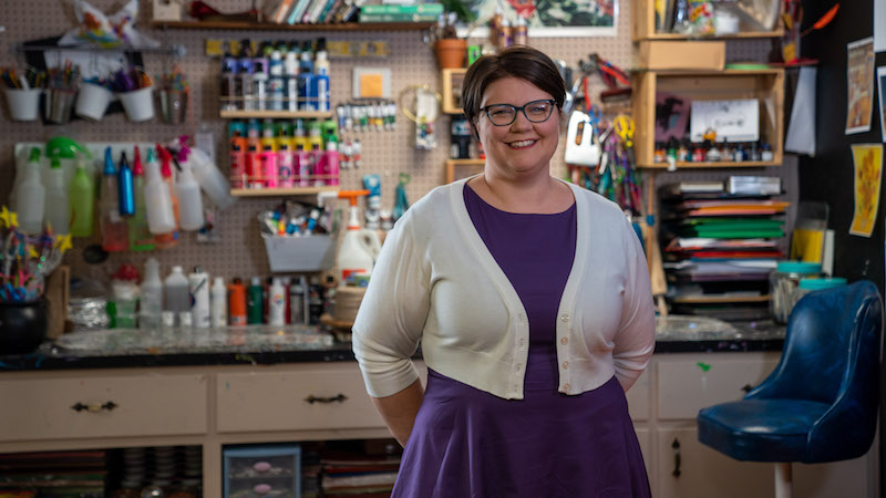 Media & Press - Cindy Ingram, Founder of Art Class Curator