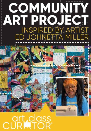 Community Art Project Inspired by Artist Ed Johnetta Miller