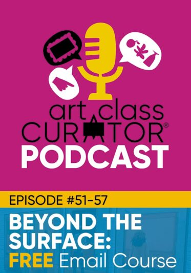 Beyond the Surface: Free Art PD Podcasts