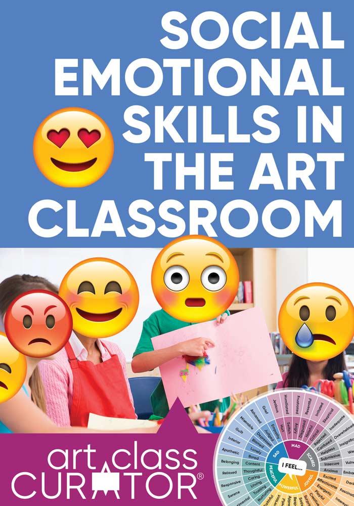 social emotional skills in the art classroom