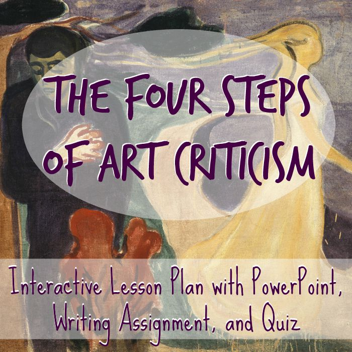 TheArtCuratorforKids-TheFourStepsofArtHistory-LessonPlanwithPowerPointandPrintable-Square