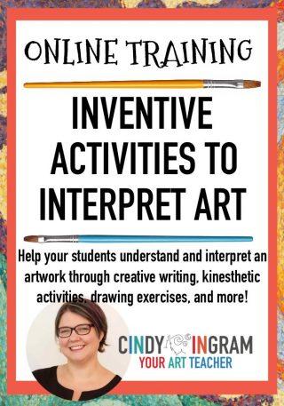 Online Workshop Inventive Activities to Interpret Art-PIN