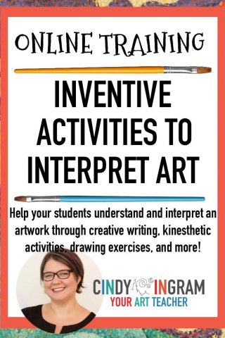 Online Workshop Inventive Activities to Interpret Art-PIN