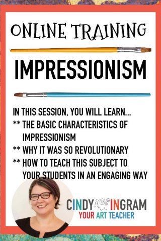 Online Training: Impressionism – July 20