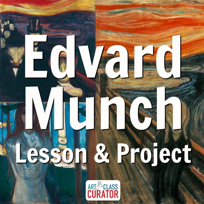edvard munch the scream art lesson