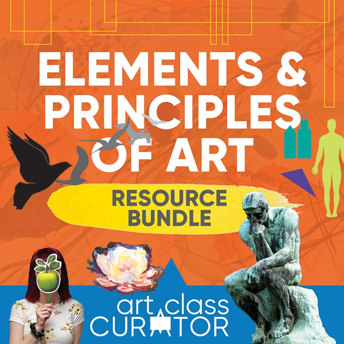 Elements and Principles Teaching Bundle